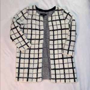 Forever 21 Fuzzy Plaid Jacket